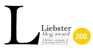 liebster blog award 200 followers