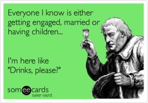 everyone married pregnant someecard