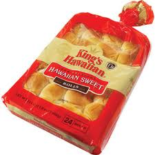 kings hawaiian sweet rolls